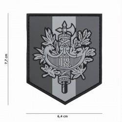 Patch 3d armoirie française