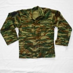 Veste de treillis camouflage lezard