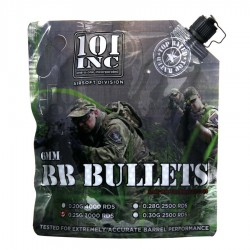 Bille bio airsoft 0.25 gr 6mm