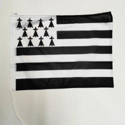 Gwen a du ( drapeau breton )
