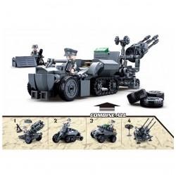 véhicule militaire lego