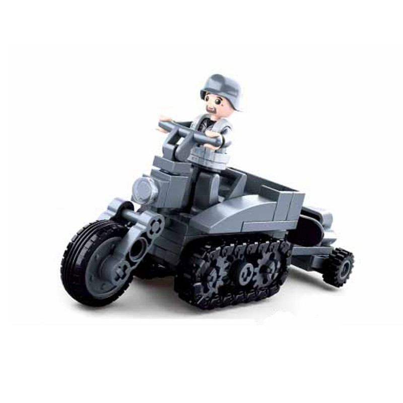 moto militaire lego