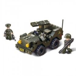 jeep lego militaire