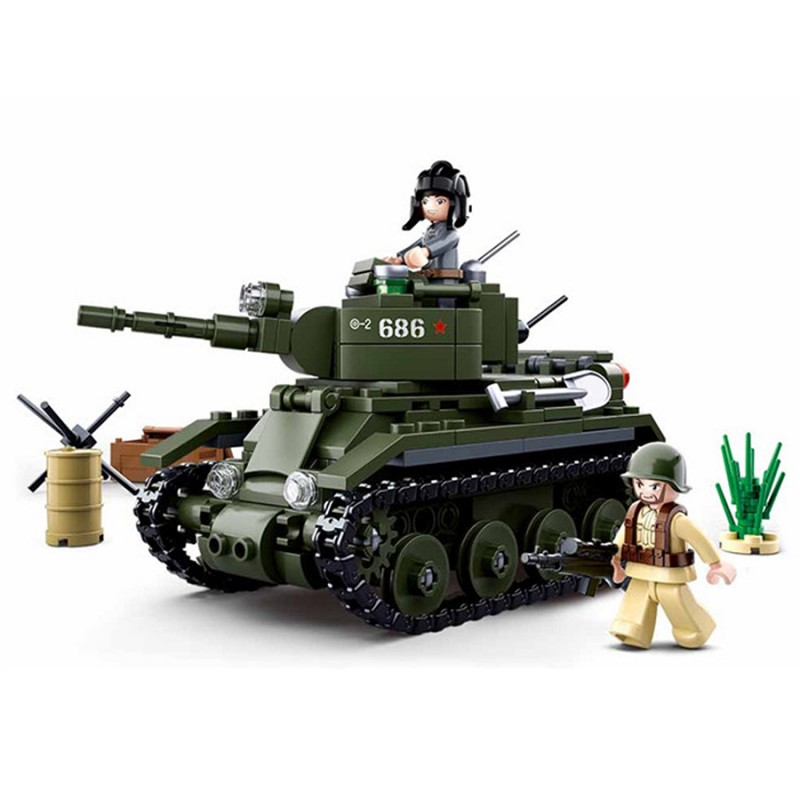 Char militaire lego