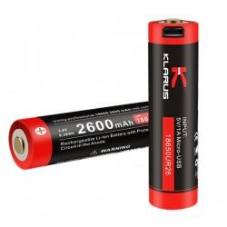 Batterie 18650 lithium