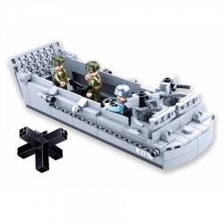 Barge de débarquement type lego