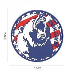 Patch 3d usa bear