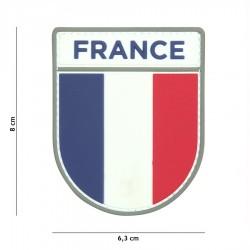 Patch de bras FRANCE gomme 3d