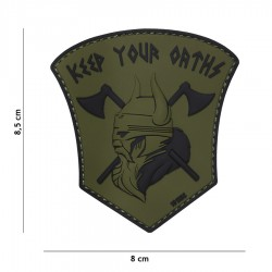 Patch 3d viking keep your oaths