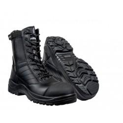Chaussure intervention étanche tout cuir et sécurité.