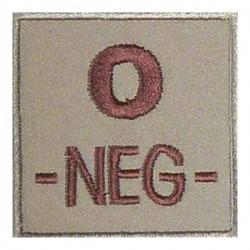 patch O neg