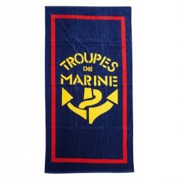 Serviette de plage troupe de marine