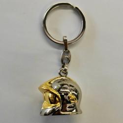 Porte clé casque F1 pompiers