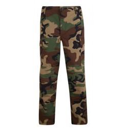 pantalon camouflage woodland