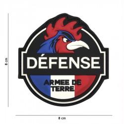 Patch drapeau défense armée de terre