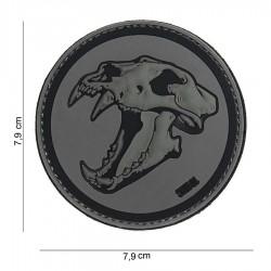 Patch 3d squelette tigre