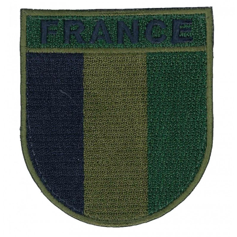 Patch bras France basse visi