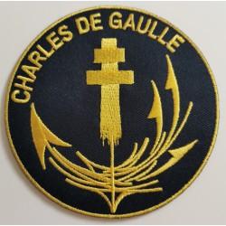 Patch Charles de gaulle