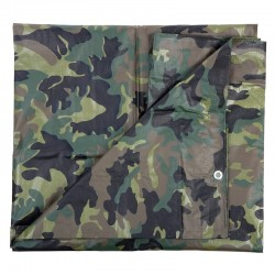 Bâche camouflage