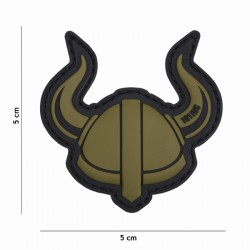 Patch casque viking