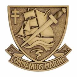 Insigne de béret commando marin