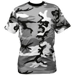 tee shirt camouflage urbain blanc