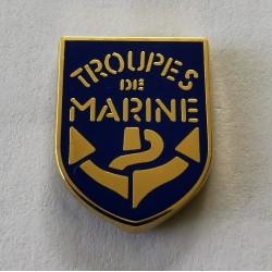 Pin's troupe de marine