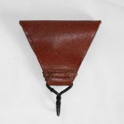 Triangle cuir pour brelage